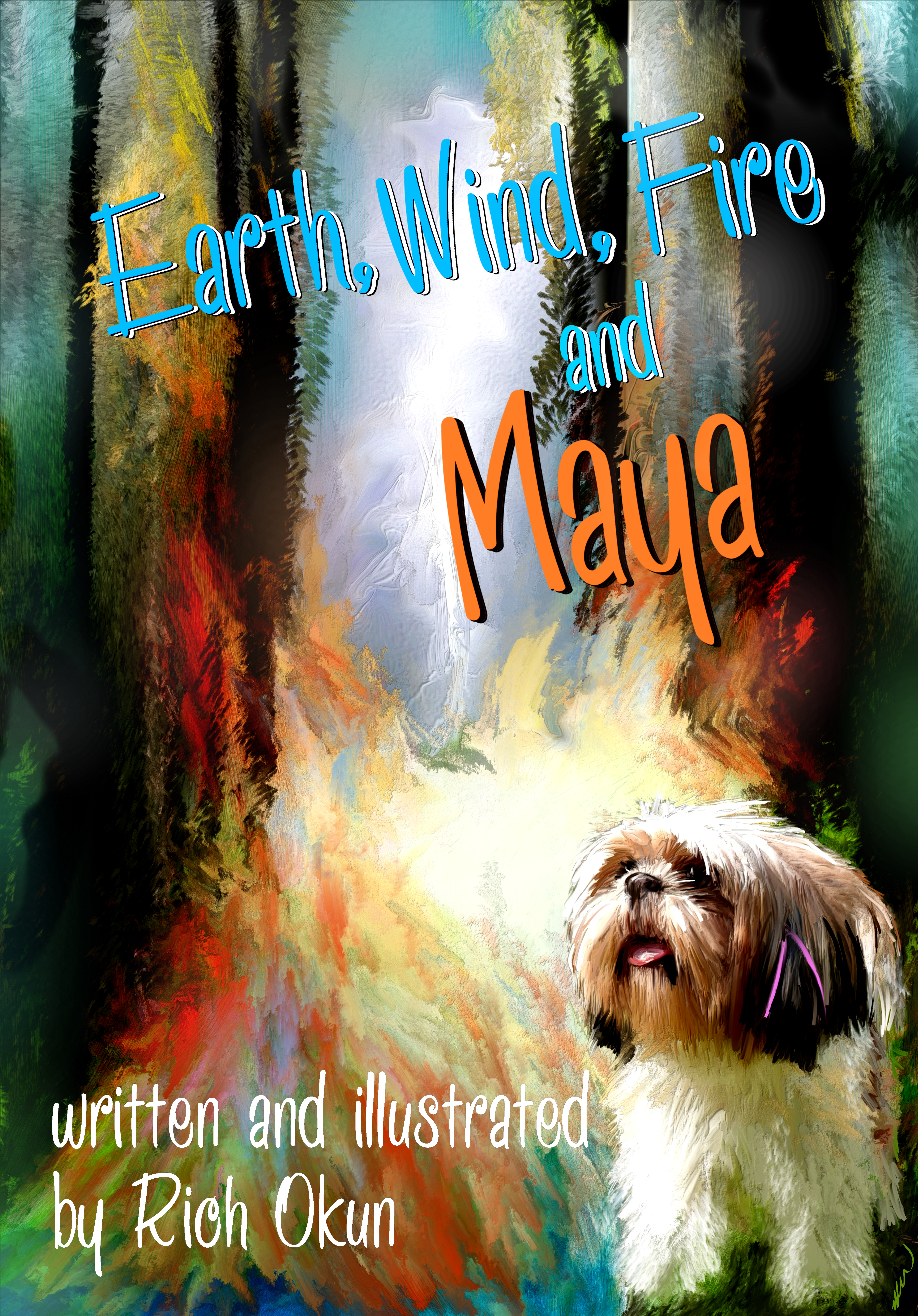 Cover 7x10earth wind fire and maya